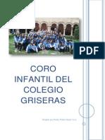 Dossier Del Coro Infantil Del Colegio Griseras 2014 (1)