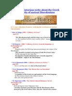 Historians Write Greekness Ancient Macedonians