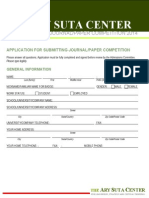 Asc Application for Submitting Paper Competition 2014