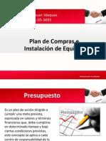 Plan de Compras e Instalación de Equipos