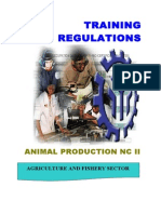 TR Animal Production NC II