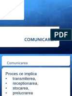 Cursul 9 Comunicarea