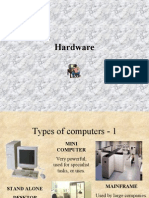 Types of Computers - 1