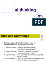 03 Critical Thinking
