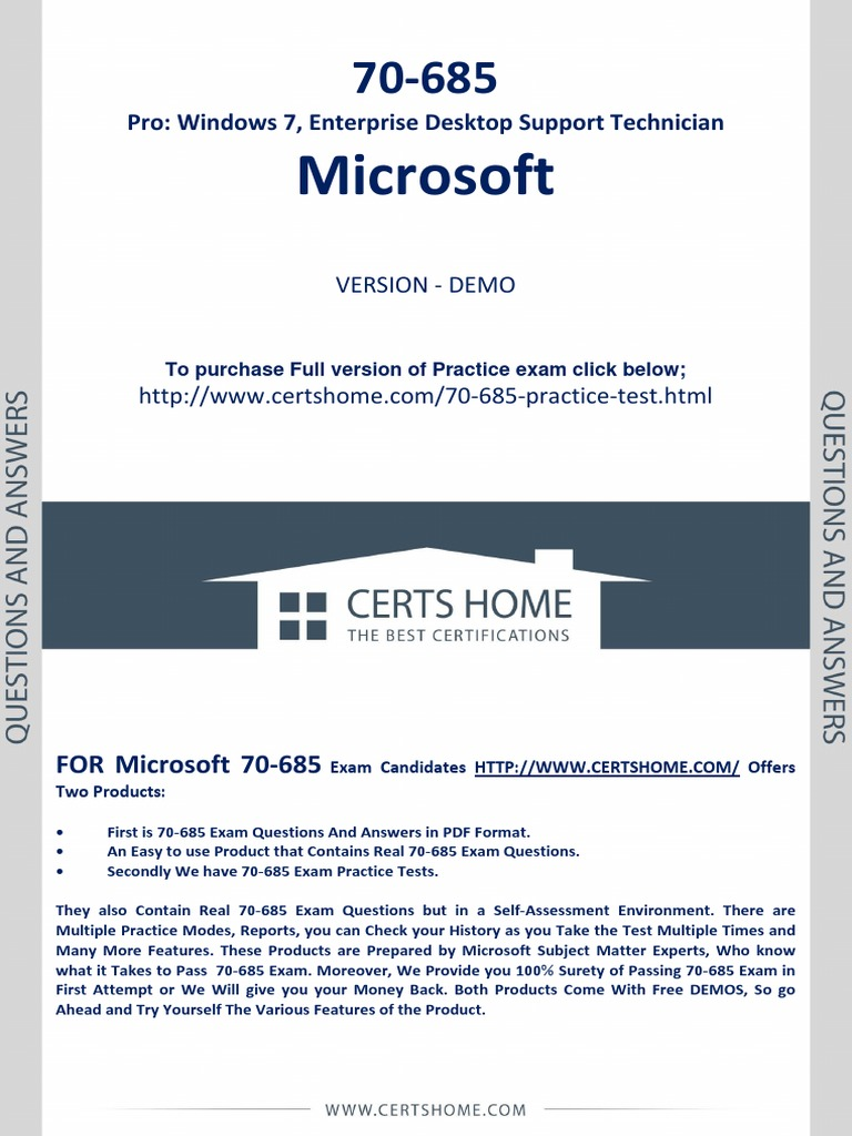 70 685 exam questions free pdf demopdf active directory group 70 685 exam questions free pdf demopdf active directory group policy xflitez Images