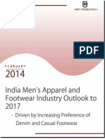 India Men's Apparel and Footwear Industry Research Report