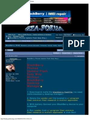 Blackberry Priv Flash File Download