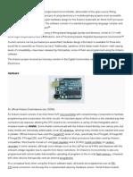 Arduino Integrated Development Environment