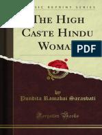 The High Caste Hindu Woman 1000026726