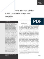 Electoral Success of AKP. Insight Turkey Vol 13 No 4 2011 by M. Çınar