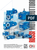Rossi Series Parallel Rightangle Reducers Gearmotors Catalogue En