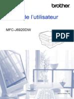 Guide d'Utilisateur J6920DW