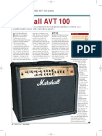 Marshall AVT100 Review