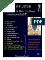 API 571 DAMAGE MECHANISM QUESTIONS