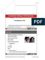 Functional Testing of Web Services.ppt
