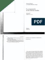 Sartori - comparación y metodo comparativo