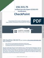 156-315.75 Exam Questions Free PDF Demo