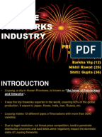 an analysis of competition in the chinese fireworks industry Case analysis-the chinese fireworks - download as powerpoint presentation (ppt), pdf file (pdf), text file (txt) or view presentation slides online.