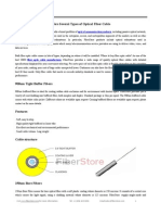 FiberStore Offers Several Types of Optical Fiber Cable