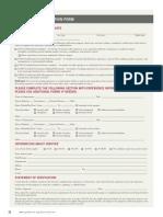 Experience Verification Form