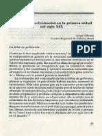 JaimeOlveda. El Poblamiento Siglo XIX
