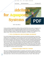 Ten Guidelines for Aquaponics