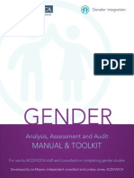 Acdivoca Gender Analysis Manual Nov 2012