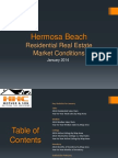 Hermosa Beach Real Estate Market Conditions - January 2014