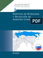 Cadexport presentación Rusia 2014