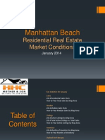 Manhattan Beach Real Estate Market Conditions - January 2014