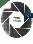 Asahi Pentax K1000 User Guide