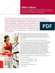 Solutions Brief RFID for in Retail