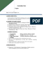 attractive CV