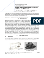 Design of Automotive Differential