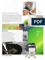 BizhubC352 Brochure