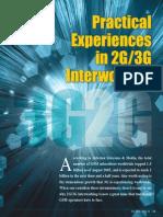 Experiences in 2g 3g Interworking
