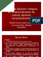 Sancion Moral Social y Juridica