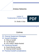 Wireless Networks - CS718 Power Point Slides Lecture 12