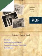 Arsitektur Yunani Klasik Untuk Persentasi