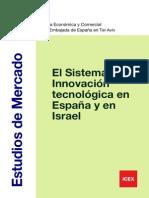 2013 03 11 EL SISTEMA DE INNOVACIÓN TECNOLÓGICA EN ESPAÑA Y EN ISRAEL