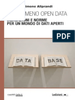 Il fenomeno open data - Aliprandi (2014)