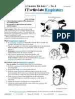 4 Using Respirators En