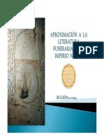 Textos Funerarios In