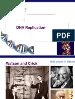 DNA Replication 2014