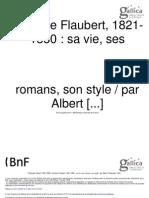 Albert Thibaudet- G. Flaubert.sa Vie-Ses Romans-Son Style