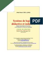 Système de logique déductive et inductive - LIVRE III