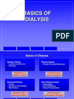 Basics of Dialysis