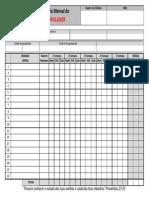 Rmd Relatorio Mensal Do Discipulador Modelo 2013