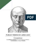 Terencio - Comedias