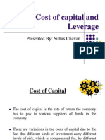 Financial Risk and Relationship Between Cost of Capital